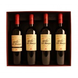 Estuche 4 botellas 200 Monges Reserva